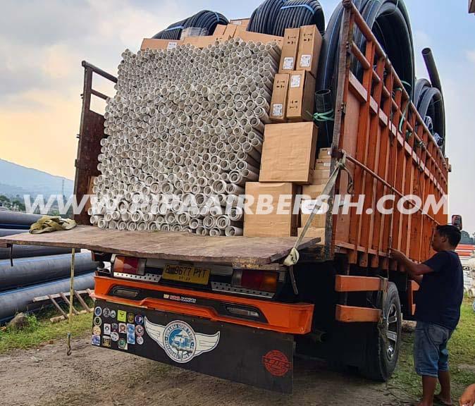Pengiriman Pipa PVC SNI Safe Lok ke Kuningan.